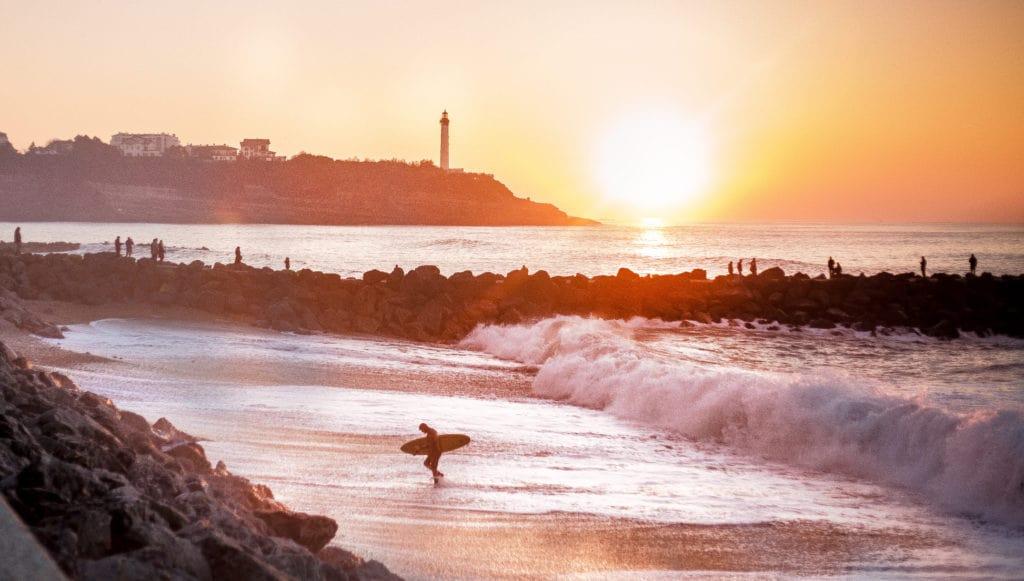 Le Top 5 des spots de surf - les cavaliers