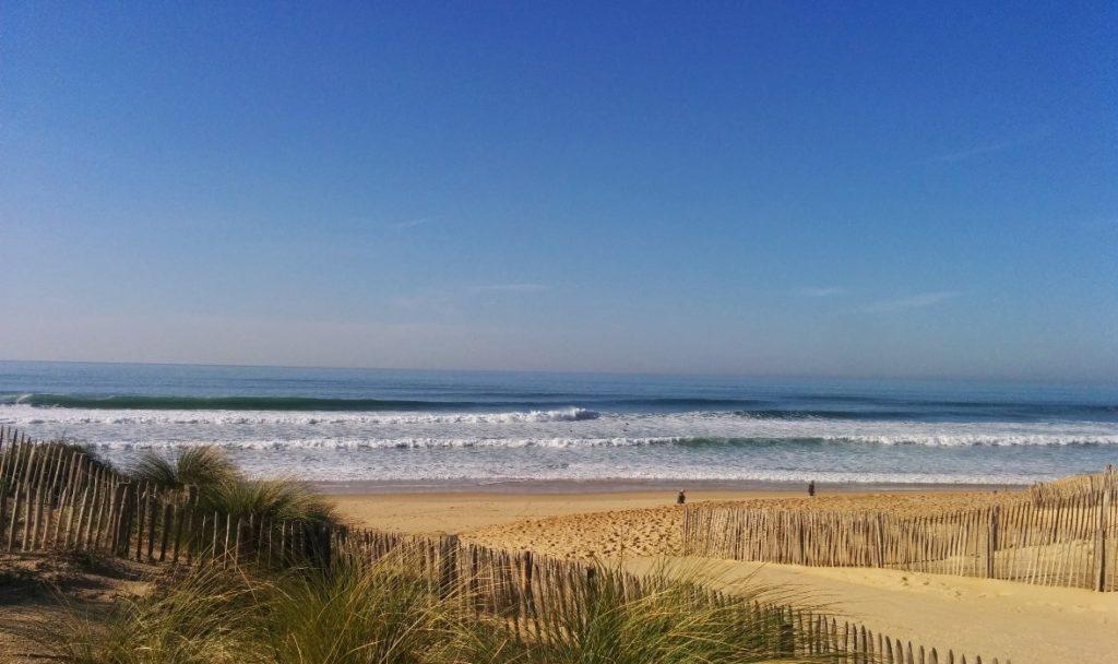 le top 5 des spots de surf: spot les Estagnots à Seignosse