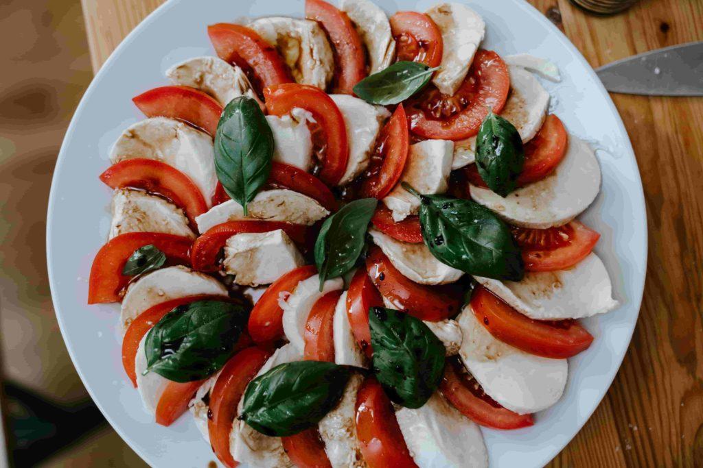 exemple de salade à manger pendant la canicule