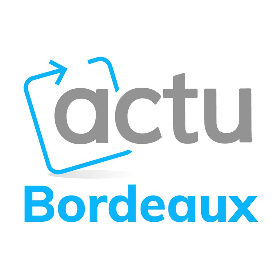 Logo actu bordeaux gris bleu-ciel