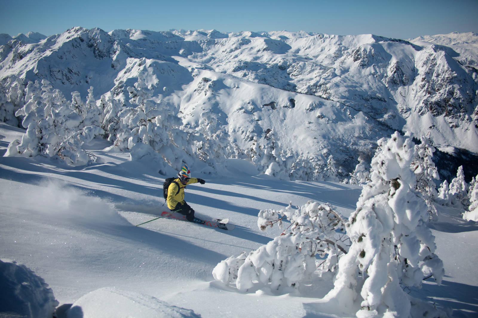 stations de ski des pyrenées Freeride station