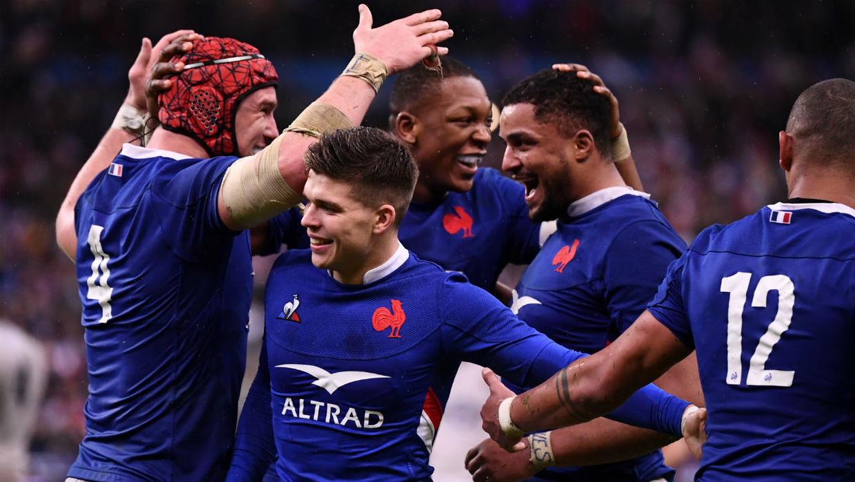 victoire du XV de france dans le tournoi des 6 nations : France - Angleterre