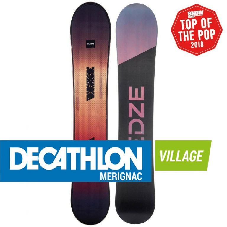 Planche de snowboard piste et freeride Bullwhip 700 Dreamscape decathlon merignac