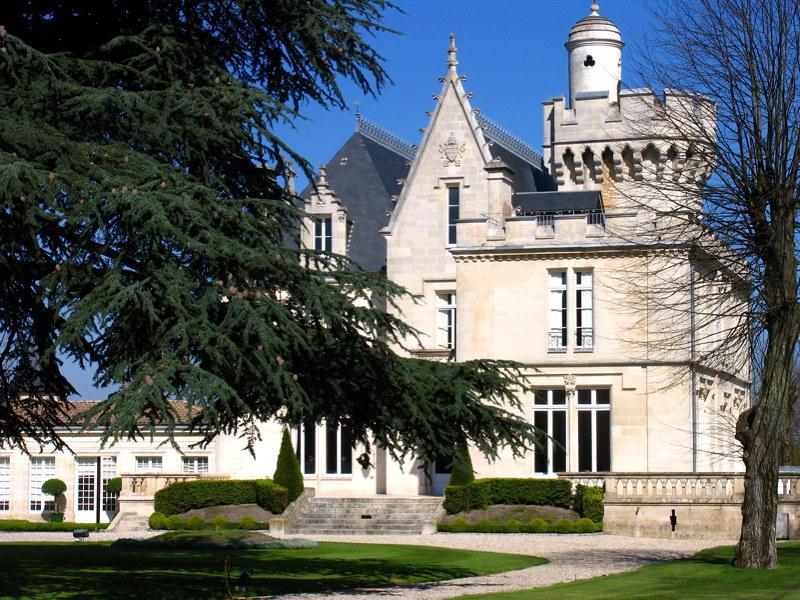 Château-pape-clément-balade-vélo-gironde
