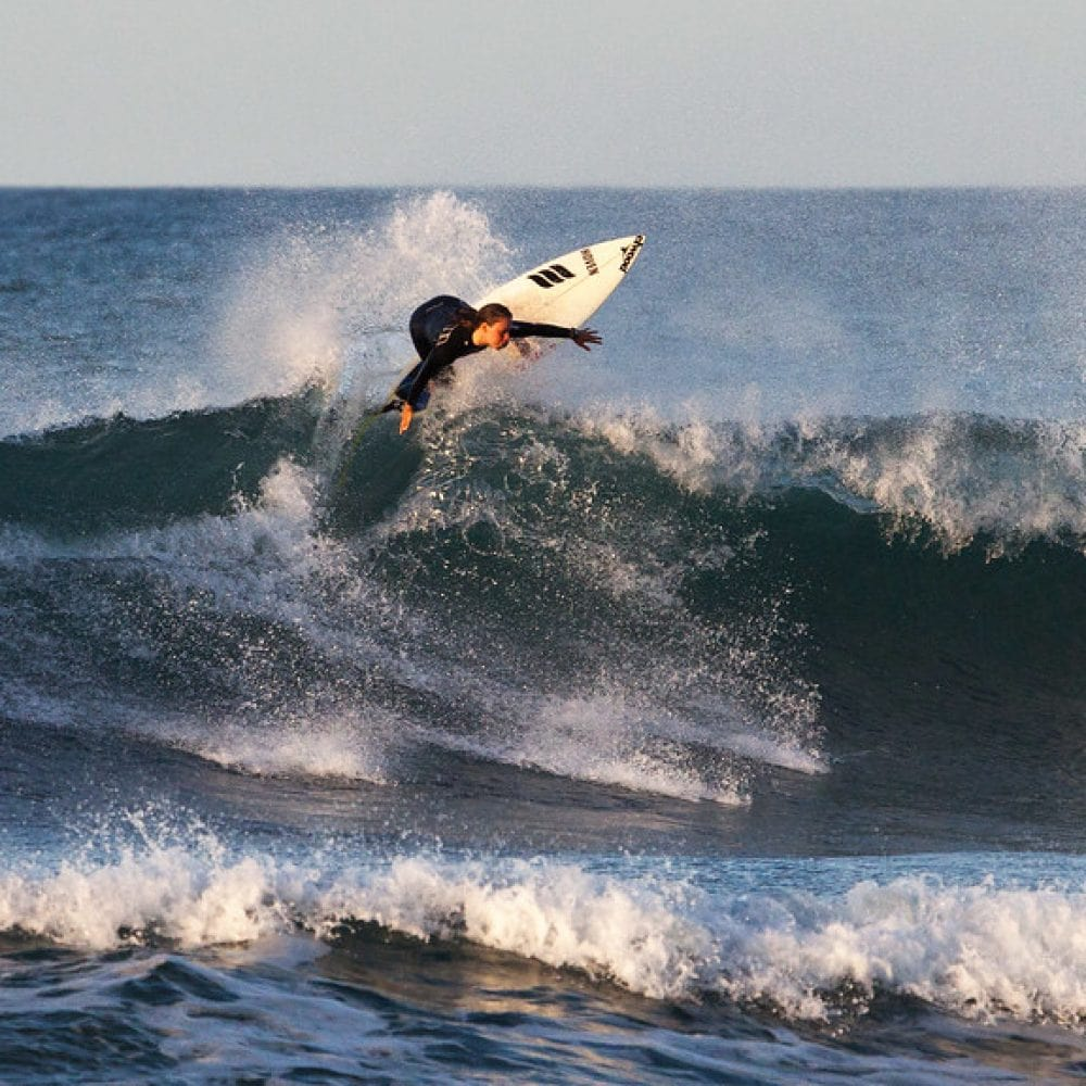 Le spot de surf La Nord à Hossegor