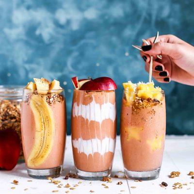 smoothies à boire pendant la canicule