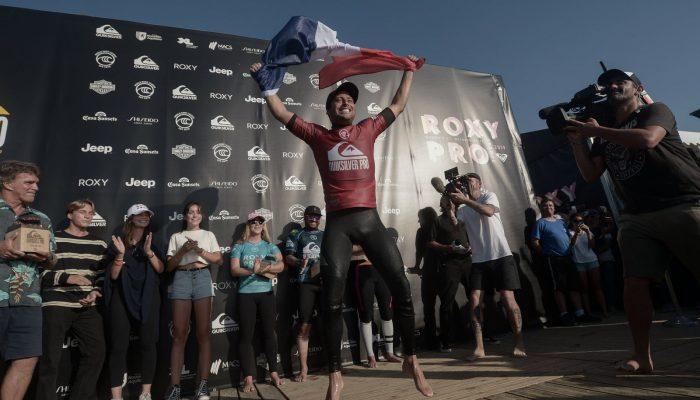 victoire quicksilver pro jeremy flores - les exploits sportifs de l'annee 2019