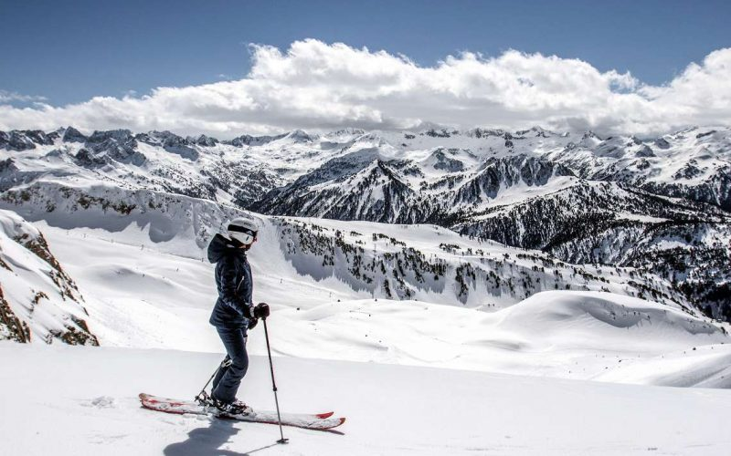 skieur Baqueira-Beret