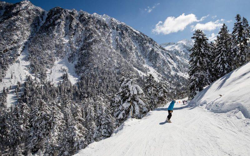 descente snowboard