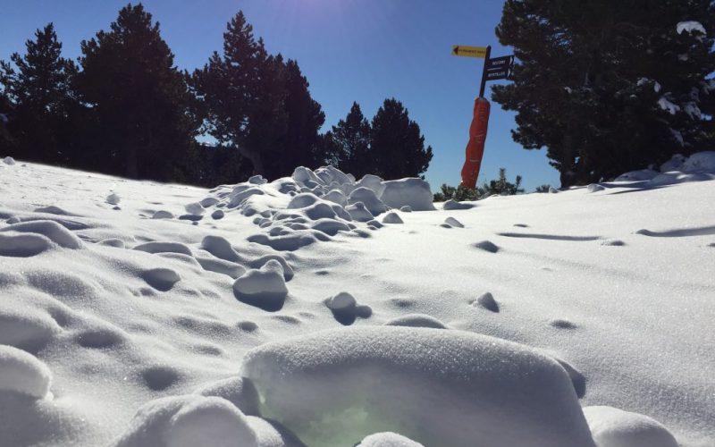 bloc de neige Font-Romeu Pyrénées 2000