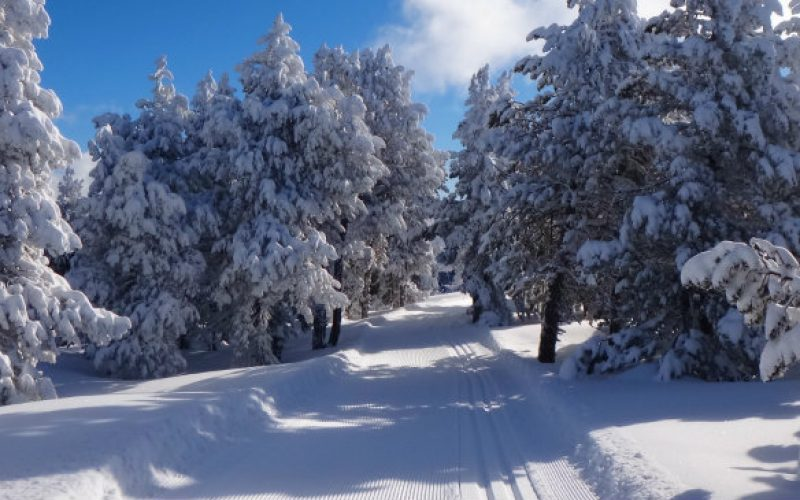 ski de fond station Font-Romeu Pyrénées 2000