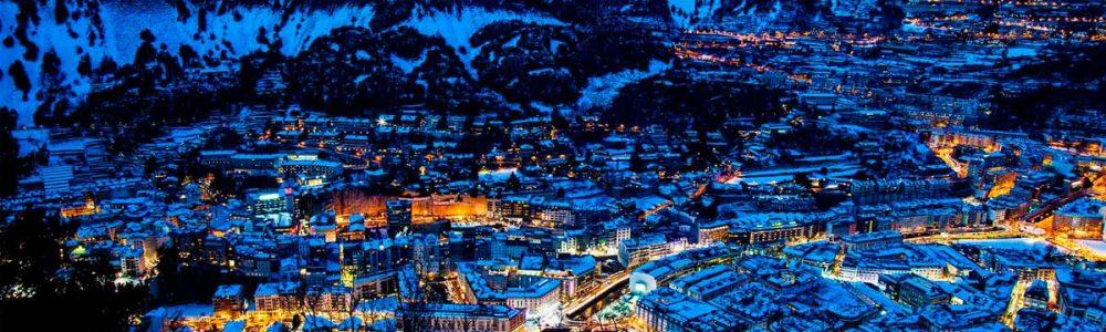 stations de ski des pyrenées grandvalira village Andorre la vieille