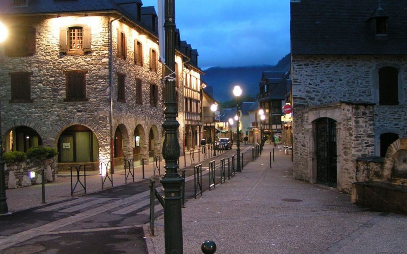 village saint-lary-soulan